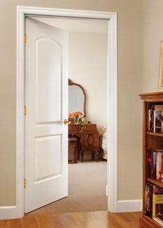 Jeld Wen Molded All Panel Continental Interior Door ProCore The Quiet Door