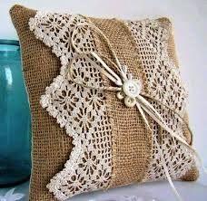 Resultado de imagem para trabalhos em croche almofadas