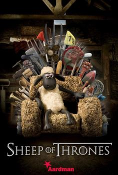 Funny Posters Of Famous Oscar Nominated Films Featuring 'Shaun The Sheep' - DesignTAXI.com