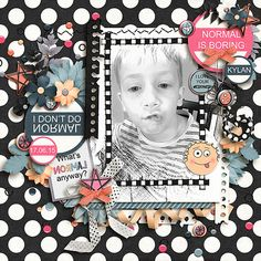 Lollybag - What's Normal Anyway by Cheryl Day Designs