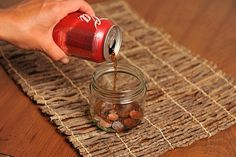 Facts About Coca-Cola The Company Does NOT Want You To Know     Coca-Cola is by far the most popular soft drink on the planet and one of the most recognizable brands overall, but these facts they do NOT want you to know about. How To Clean Coins, How To Clean Pennies, Coca Cola, Ketchup, Stop Drinking Soda, Pressed Pennies, Coins Worth Money, Unbelievable Facts, Coin Worth