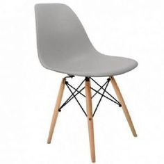 Charles & Ray EAMES DSW Eiffel Dining Chair  - Light GREY
