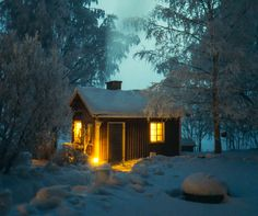 Best places in Finland 🇫🇮 Finland Travel Destinations Honeymoon Backpack Backpacking Vacation Europe Travel Tips, Places To Travel, The Places Youll Go, Places To Go, Finland Travel, Lapland Finland, Lappland, Winter Cabin, Cabins In The Woods