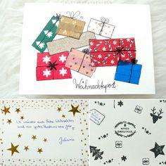 Weihnachtskarte 3 2015 #weihnachtskarten #karten #diy #selbstgemacht  #selfmade #xmas #merrychristmas #weihnachten #froheweihnachten  #washitapeaddict ...