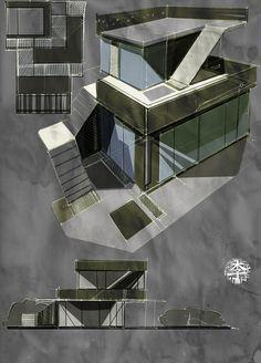 Private House pt.1 by Anton Li, via Behance