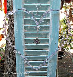 Crystal Heart Sun Catcher Garden Whimsy by GardenWhimsiesByMary