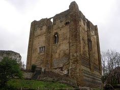 Old castle in Guilford, England