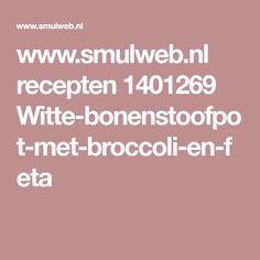 www.smulweb.nl recepten 1401269 Witte-bonenstoofpot-met-broccoli-en-feta