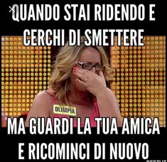 Sempre...😆 Funny Test, Crazy Funny Memes, Funny Jokes, Funny Images, Funny Photos, Italian Memes, Super Funny Videos, Serious Quotes, Funny Scenes