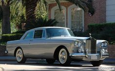 1965 Rolls Royce silver cloud III coupe