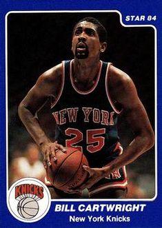 Basketball Leagues, Sports Basketball, Bill Cartwright, Star Company, Basketball History, Trading Card Database, New York Knicks, Nba Players, Mj