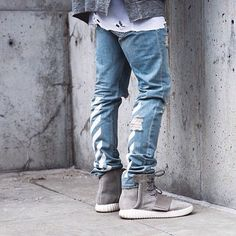 Yeezy Boost x Off White Jeans! #freofficial