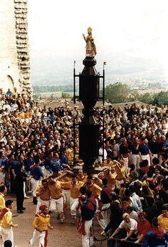 check -> EUR zone, Museo Nazionale delle Arti e Tradizioni Popolari - Festa di Sant'Ubaldo a Gubbio - Ceri di Gubbio -  Foto: V. Contino 1969