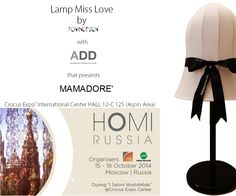 ROMINDESIGN creations from my mind: HOMI RUSSIA shop on line http://romindesign.jimdo.com/la-nostra-produzione/lampade-miss-love/