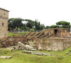 Roma: l'area archeologica del Circo Massimo