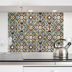 WallPops! Green Tiles Kitchen Tiles Wall Decal & Reviews | Wayfair