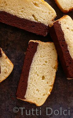 Vanilla-Bean Brownie Cake