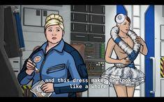 Archer Funny, Comedy Tv, Gilmore Girls, Dress Making, Dean, Movie Tv, Cartoons, Closet, Cartoon