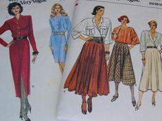 14-16-18-20-22 McCalls Sewing Pattern Gonne 7845 E5