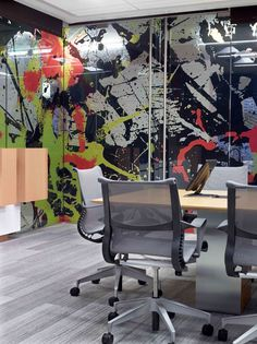 Adobe: Cool offices, inspiring workspace, interior design at work, office decor
