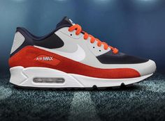 newest b69ae a63ec The Right Sneakers for Football Fans From the Nike NFL Draft Pack we  present the Nike Air Max 90 Hyperfuse line-up.