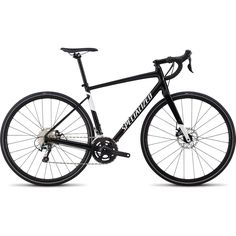 Specialized Men's DIVERGE E5 ELITE Tiagra Gravel Rennrad - 2018 - gloss tarmac black/metallic white silver