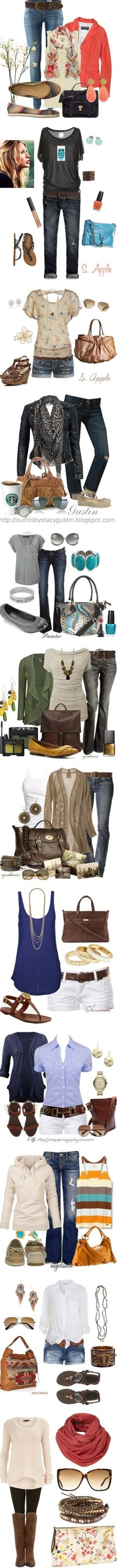 Some cute combinations.