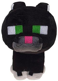 Tuxedo Cat Plush Minecraft 20cm 8