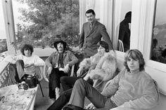 Pink Floyd at The Casa Madrona Hotel, Sausalito, CA 1967 Pink Floyd Comfortably Numb, Pink Floyd Meddle, Bucky, Pink Floyd Echoes, Pink Floyd Members, Pink Floyd Album Covers, Classic Rock Artists, Barrett, Bond