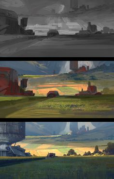 ArtStation - Trollhjem - Harvesting, Thomas Stoop