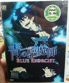 nice Ao No Blue Exorcist (Chpater 1 - 25 End) ~ 2-DVD SET ~ English Subtitle ~ Anime - For Sale