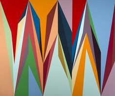 merchantsonlong: Paintings by Nigerian artist Odili Donald Odita.