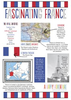 Hello Friend, How have you and your littles been enjoying filling in the France passport pages? It's been great fun putting the pages together… and I've even found myself learnin… Teaching French, France For Kids, Paris, France Culture, French Education, World Thinking Day, French Classroom, French Resources, Paris Illustration
