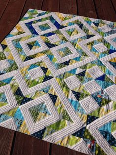 by HoosierToni, via Flickr~love the quilting on the white space