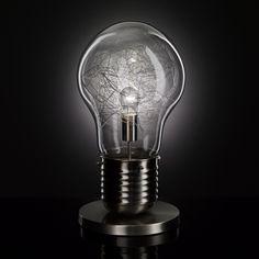 ACHICA | WOFI Futura Table Lamp, Chrome