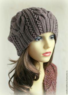 Модные женские вязаные шапки 2 16 шапка крючком фото