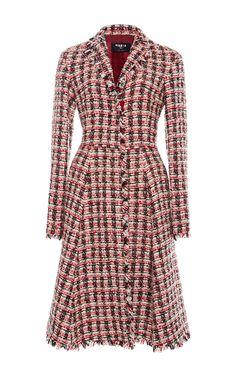 Paule Ka Tweed Dress Coat $1,525