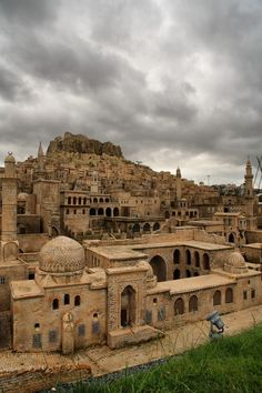 The famous stone houses of Mardin, Turkey. It is an amazing place to visit and be inspired. - esma yıldız - - The famous stone houses of Mardin, Turkey. It is an amazing place to visit and be inspired. Places Around The World, Oh The Places You'll Go, Cool Places To Visit, Places To Travel, Around The Worlds, Beautiful World, Beautiful Places, Bósnia E Herzegovina, Ancient City