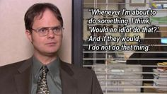 Ah the office and all of its.....wisdom?