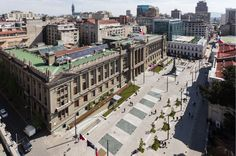 Plaza Montt Varas / Santiago Chile / PLAN Arquitectos / www.planarquitectos.cl