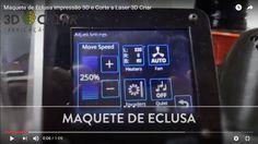 Maquete de Eclusa   Impressão 3D e Corte a Laser   3D Criar