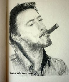 Robert Downey Jr. by JustEyra