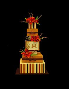 Christopher Garrens - Portfolio - Weddings - Modern    Orange County Wedding Cakes at Christopher Garrens Let Them Eat Cake Costa Mesa / Newport Beach California