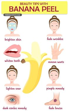 Amazing beauty tips With Banana Peel