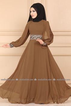 Stylish Dress Designs, Stylish Dresses, Casual Dresses, Long Sleeve Bridal Dresses, Long Gown Dress, Islamic Fashion, Muslim Fashion, Modest Fashion Hijab, Fashion Dresses
