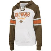 NFL - Cleveland Browns Women's Star Power Lace Neck Hooded Sweatshirt    For me!