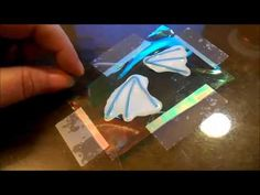 Liquid Polymer Clay Fairy Wings / Mermaid Fins  ~ Polymer Clay Tutorials