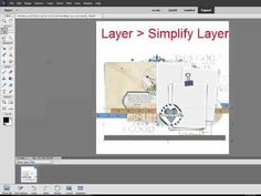 How to Move Shadows to Their Own Layer in Photoshop Elements [Video] - Digital Scrapbooking Blog and scrapbook inspiration From DesignerDigitals