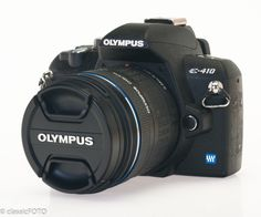 Olympus EVOLT E-410 10.0 MP Digital SLR Camera w/ 14-42mm Lens (4446)