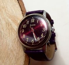 Vintage men's watch SECONDA made in USSR Russian